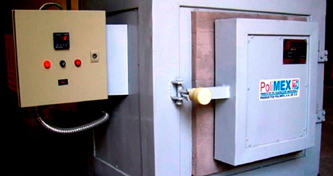 Hornos eléctricos industriales - Polimex.mx