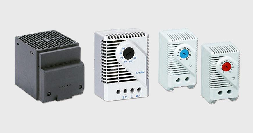 Calentadores (Termistores) y controles para gabinetes y tableros de control - Polimex.mx