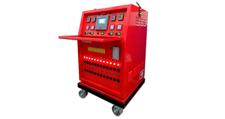Máquina para calentamiento de rodillos y tanques - Polimex.mx