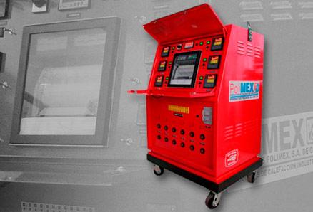 Máquinas y accesorios por tratamiento térmico - Polimex.mx